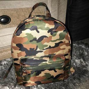 Mini camo back pack